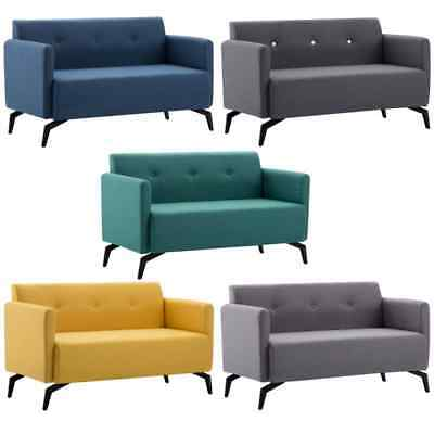 vidaXL Sofa 2-Sitzer Stoff Polstersofa Loungesofa Sitzmöbel mehrere Auswahl