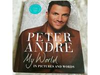 Signed Peter Andre book