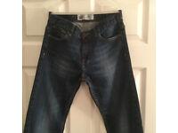 Levi's Boy's 504 Regular Fit Dark Wash Jeans