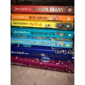 7 David Williams book collection