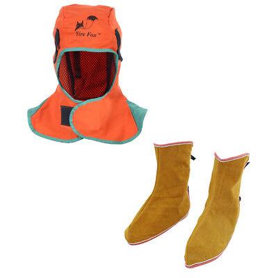 Welding Helmet Hood Neck Protection Welder Hat Welder Spats Shoe Cover