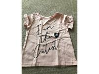 Kids river island T-shirt girls 12-18