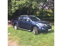 Isuzu DMax Utah, Blue, Truckman top and load liner, Tow bar, lovely condition
