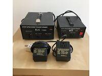 BUNDLE: 5000w, 1500w Step-up/Step-down transformers + 2 200w Step-down converter
