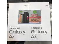 SAMSUNG GALAXY A3 2017 UNLOCKED BRAND NEW BOXED SEALED COMES WITH TWO YEARS SAMSUNG WARRANTY