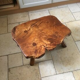 Burr oak coffee table by Colin (beaver man)Almac