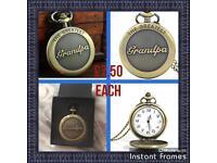 Stunning Grandpa pocket watches