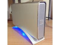 "Icy Box HDD Enclosure For 3.5"" Sata Hard Drive, Includes 1TB Hard Drive."
