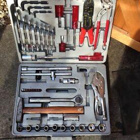 Car tool kit in case