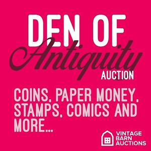 ONLINE AUCTION! Collector & High Value Goods - Ends Thursday! Stamps, Coins, Comic Books, Banknotes and more!