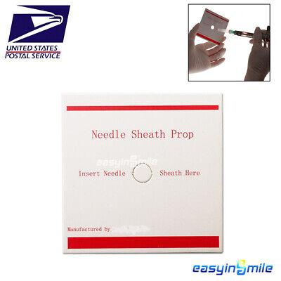 100pcs Dental Disposable Needle Sheath Prop For Anesthetic Syringe Easyinsmile