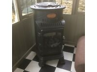 Provence gas heater by Calor Gas in as new condition