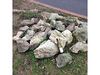 Rockery Rocks; was £4 each when bought new. 33 rocks to sell at £55 lot