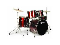 Premier Olympic Drum kit - 5 piece - Hardware - Solar Cymbals - Throne