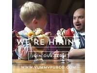 Bar staff needed for Yummy pubs (crazy and fun people need absolutely apply)