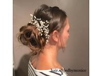 Bridal, Up do, Occasion, Braids: Hair Up Stylist