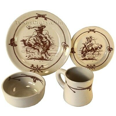 16 piece Casual Western Dinnerware Set