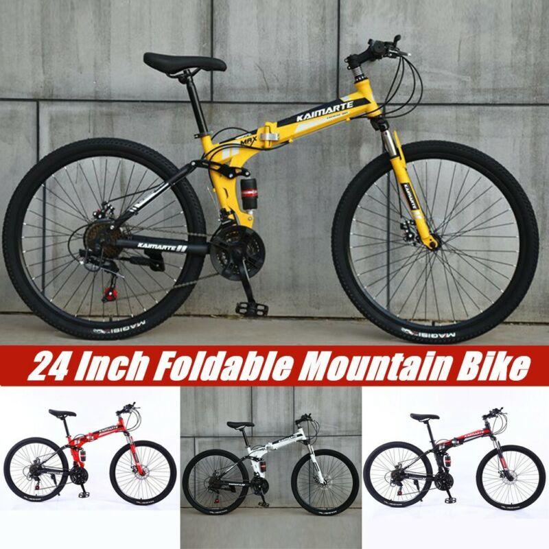 Unisex Mens Womens Adult Mountain Hybrid Mini Portable Bike/
