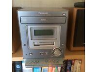 Panasonic CD/Cassette Player