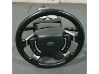 Original Range Rover Vogue L322 TD6 3.0L Complete Steering Wheel & Column 02-06 for sale  Hayes, London