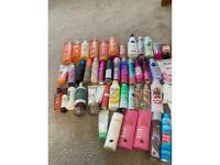 Toiletries collection worth over £100