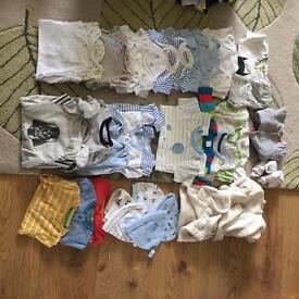Newborn/1st size boys bundle