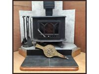 CAST IRON WOODBURNER🔥WOOD BURNING STOVE🔥LOG BURNER & ACCESSORIES 🔥