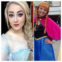 Elsa and Anna Frozen parties