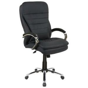 Picket House FFAA134SW Aaron Executive Office Chair (Assembled)