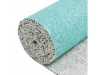 Luxury 8mm Thick Carpet Underlay, £30 per Roll