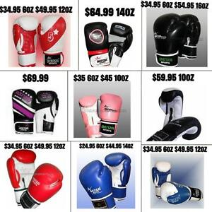 BOXING GLOVES, BAG GLOVES, MMA GLOVES STARTING FROM $24.45