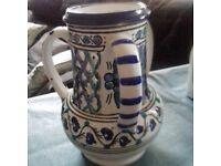Ceramic Tunisian jug