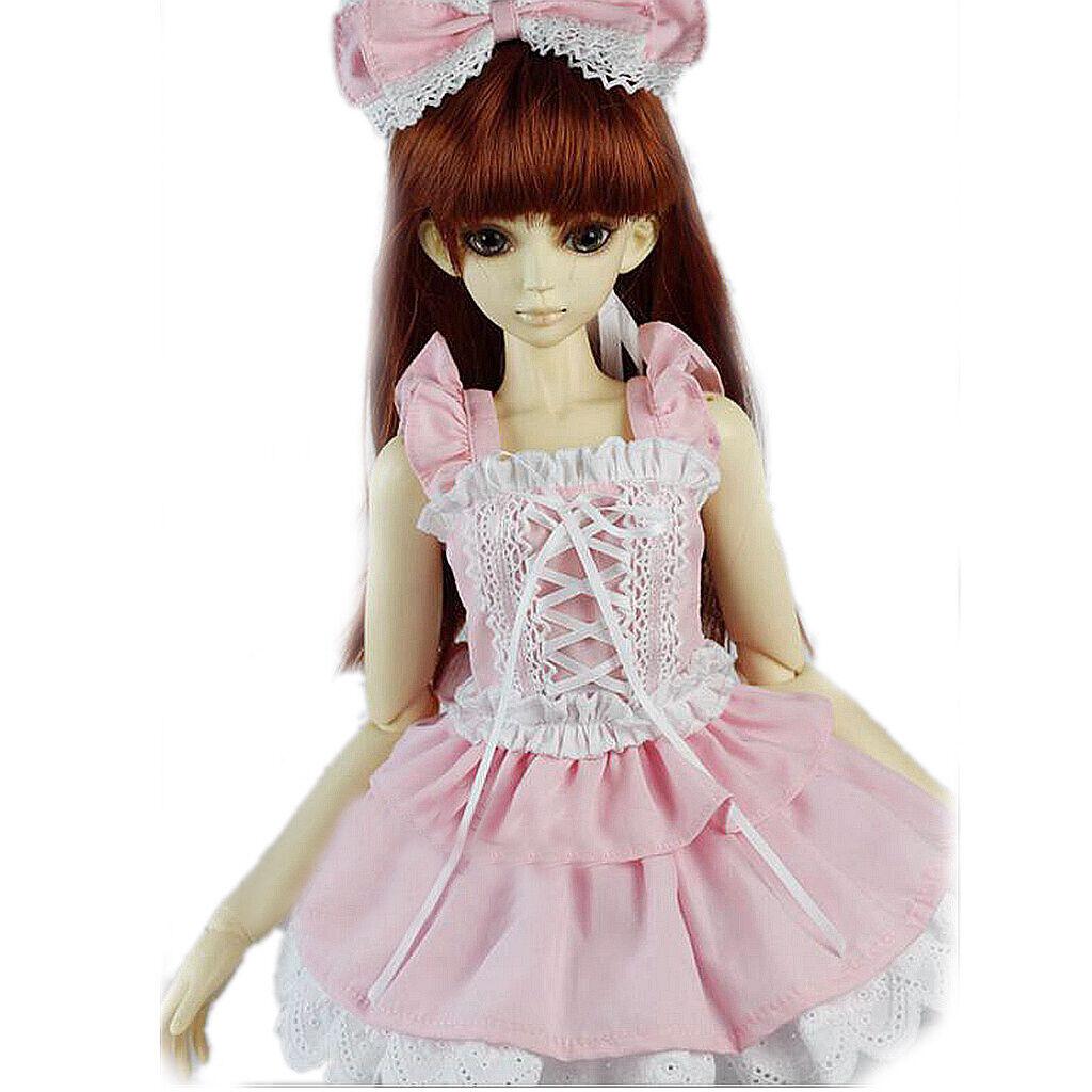 PF 129# Pink Dress Suit 1//3 SD DOD DZ BJD Dollfie Suit