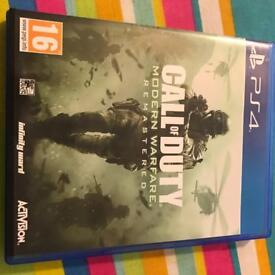 PS4 call of duty games x 2