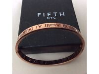 Fifth NYC Rose gold bangle