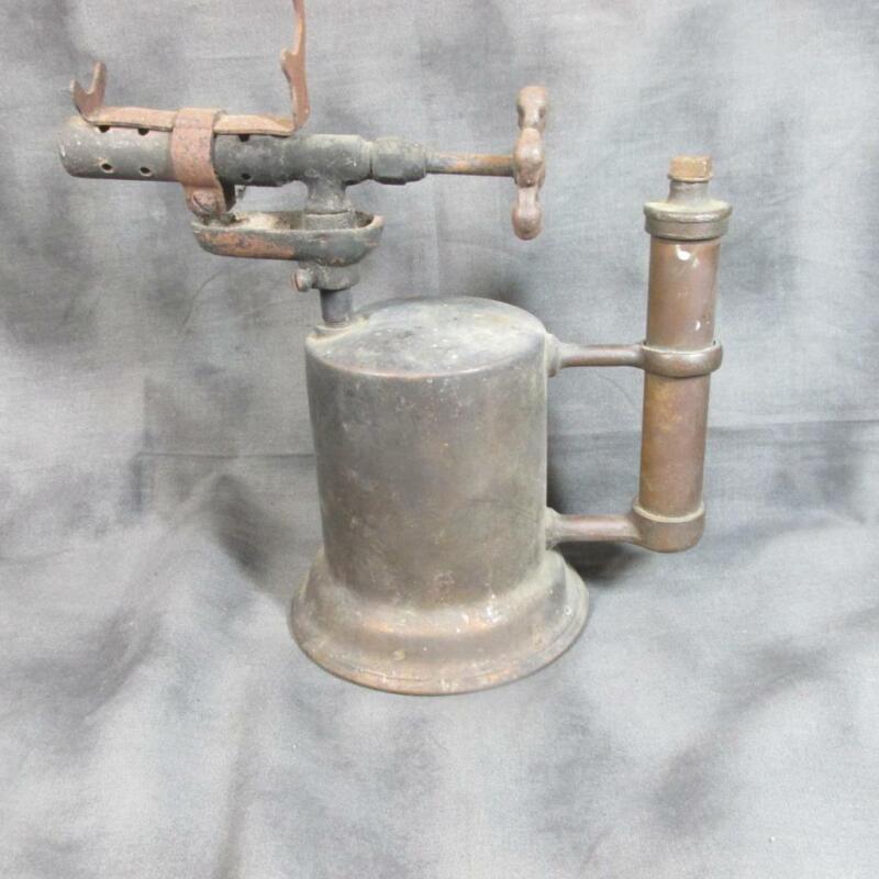 Antique Ashton Brass Blow Torch