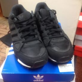ADIDAS ZX750 BLACK UK SIZE 9.5 IN EXCELLENT CONDITION