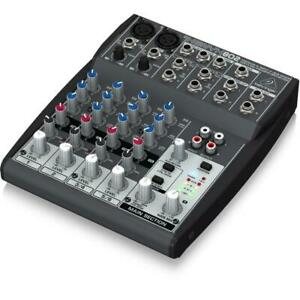 Behringer XENYX 802 8-Input 2-BUS Mixer with Mic Preamps and British EQs Canada Preview