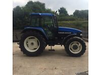 NEW HOLLAND TM125 MANUEL CLASSIC