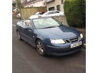 SAAB 9-3 linear anniversary TDI ( needs new clutch ) top spec ( SPARES OR REPAIR )
