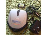 Retro Sony Discman ESP