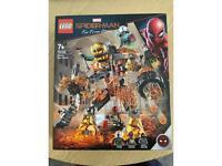 Lego Spider-Man molten man battle 76128