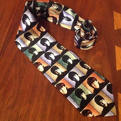 Silk Shapes of Beatles Tie