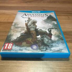 Assassin's Creed 3 Wii U (GOOD CONDITION)