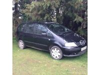 Alhambra, driving well but no mot, hence the low price