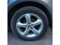 SKODA FABIA ALLOY WHEELS SET OF FOUR