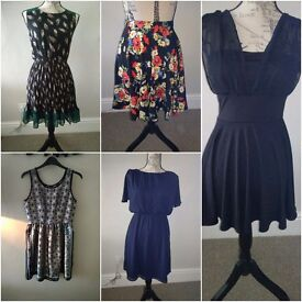 Size 6/8/20 bundle of women's clothes, mainly dresses, all new