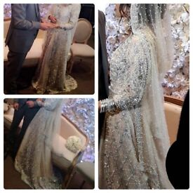 Asian bridal wedding gown (Genuine Golu Designer)