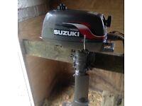 Suzuki 5 hp 2 stroke Boat engine