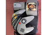 For Sale Nintendo64 with Golden Eye
